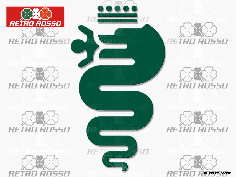 Alfa romeo porte-cl/és serpent vert